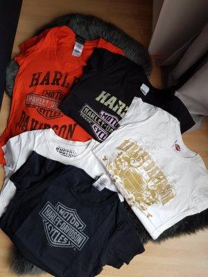 5 T Shirts Gr. S 4x  orig. Harley Davidson