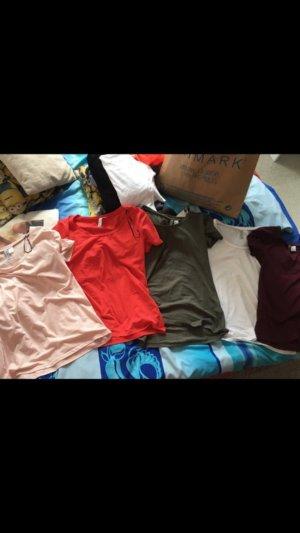 5 T-Shirts von H&'M!!