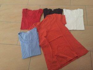5 Tshirts in verschiedene Farben