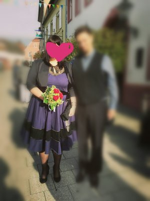 50. Jahre Kleid mit Petticoat