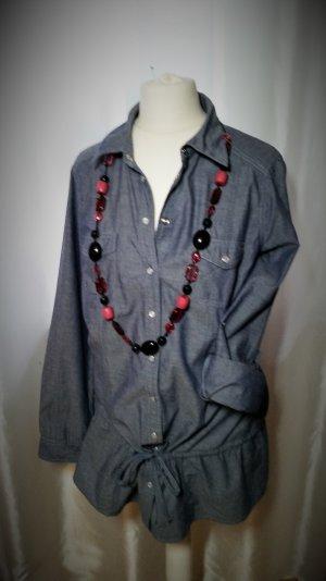 50% Sale! Jeanshemd Bluse / Longshirt / Bluse Gr42 Neu