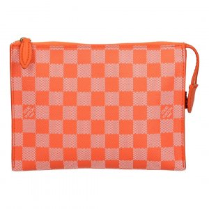 Louis Vuitton Clutch oranje-goud