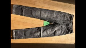 501 Original Levi's Skinny Filiforme Black Coast