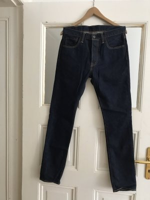 Levi's High Waist Jeans dark blue