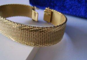 50er/60er Jahre Gold Doublé  Armband Friedrich Speidel Pforzheim Juwelier Meisterpunze