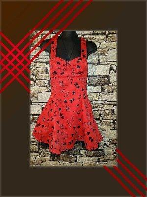 Petticoat Dress red-black