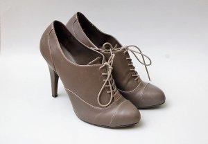 Zara Talons hauts gris brun