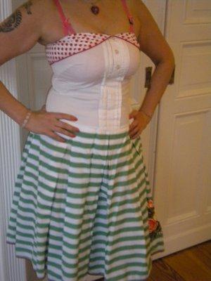 50ziger Jahre Bandeau Kleid von Fornarina Gr. L