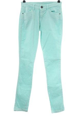 55 DSL Pantalone elasticizzato turchese stile casual