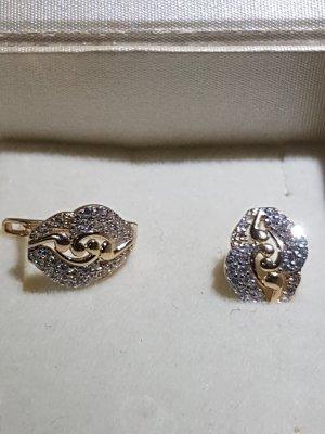 100 Boucles d'oreille en or doré
