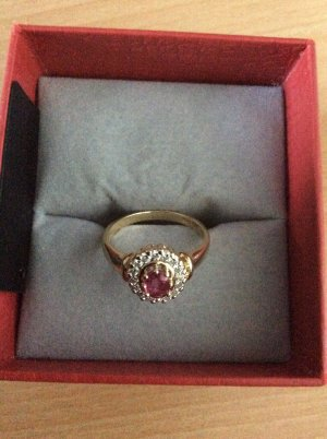 1921 Gold Ring gold-colored