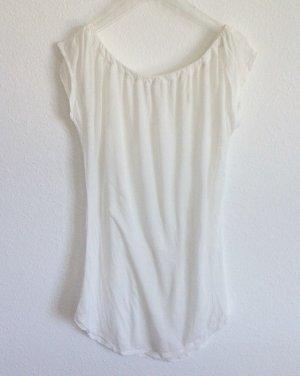 59€ American Vintage Longshirt Zart Shirt Eierschale Offwhite M 36 38 40