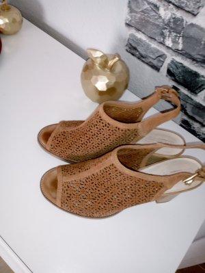 5th Avenue Sandalo con cinturino e tacco alto marrone