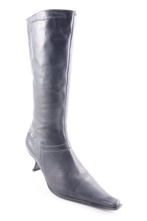 5th Avenue Absatz Stiefel dunkelblau Elegant