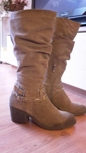 5th Avenue High Boots brown suede