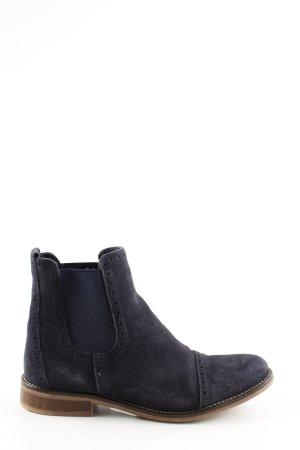 5th Avenue Chelsea laarzen zwart-blauw casual uitstraling