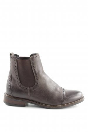 5th Avenue Chelsea Boots graubraun Casual-Look