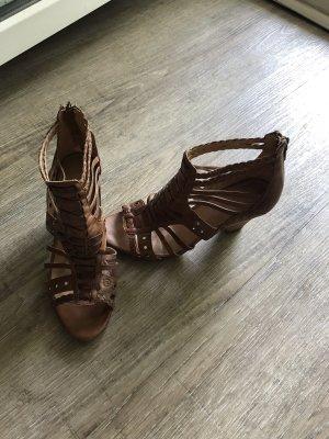 5th Avenue echt Leder Sandaletten Sandalen Gr. 37 Boho Style