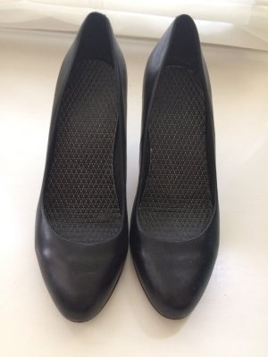 5th Avenue Slingback Pumps black leather