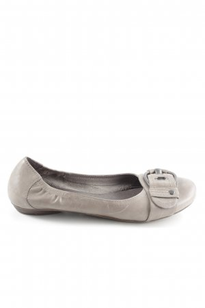5th Avenue faltbare Ballerinas wollweiß Casual-Look