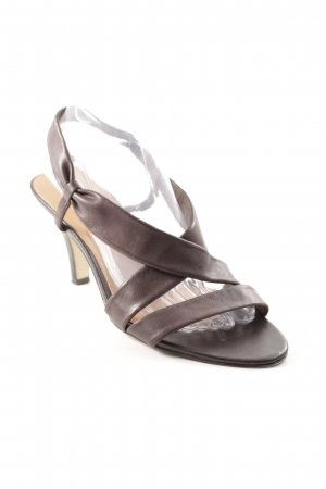 5th Avenue High Heel Sandaletten braun Casual-Look