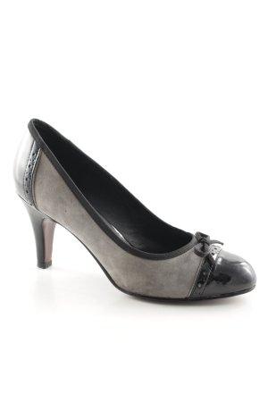 5th Avenue High Heels grey-black business style