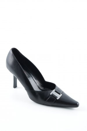 5th Avenue High Heels schwarz-silberfarben Elegant