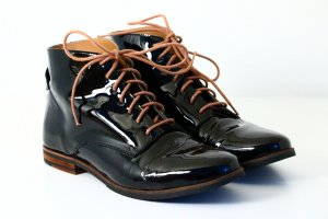 5th Avenue Lackleder Stiefelette