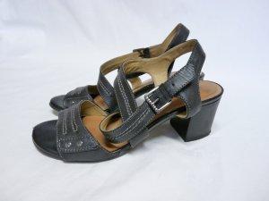 5th Avenue Leder Schuhe Halbschuhe Gr. 36 getragen Schwarz