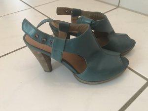 5th Avenue High Heels cadet blue