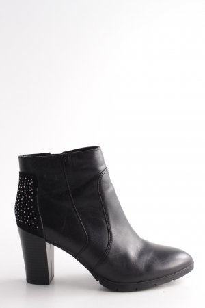 b99237d11b6a 5th Avenue Reißverschluss-Stiefeletten schwarz Casual-Look