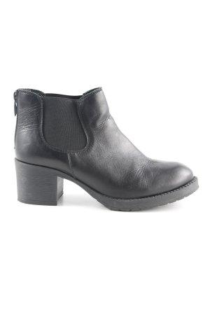 5th Avenue Zipper Booties black casual look