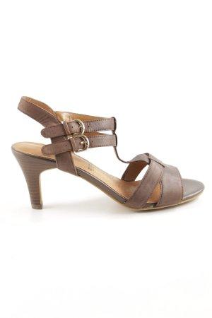 5th Avenue Riemchen-Sandaletten braun Casual-Look