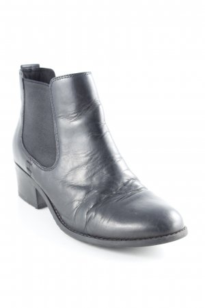 5th Avenue Schlüpf-Stiefeletten schwarz Casual-Look