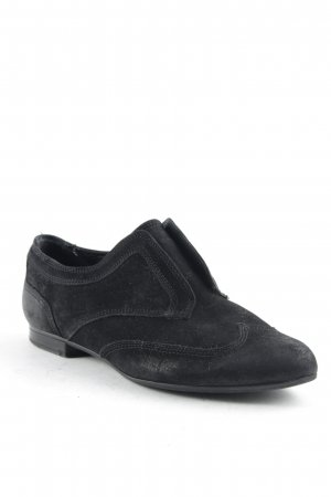 5th Avenue Slip-on Shoes black simple style