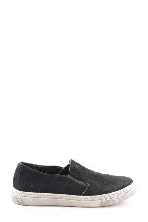 5th Avenue Instapsneakers zwart casual uitstraling