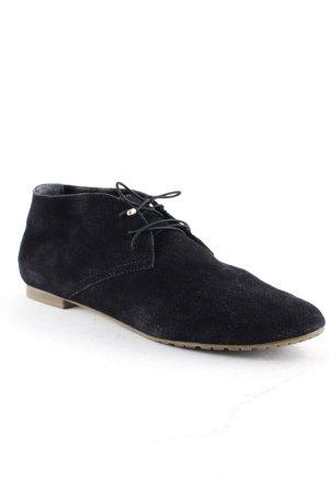 5th Avenue Zapatos brogue negro-marrón arena estilo «business»