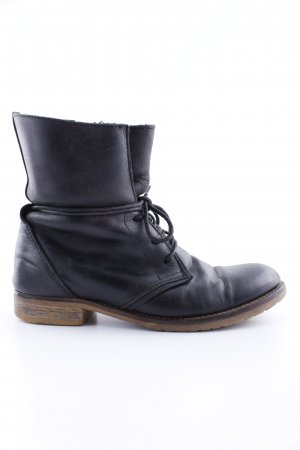 5th Avenue Lace-up Boots black casual look