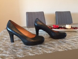 5th Avenue - schwarze Leder Pumps