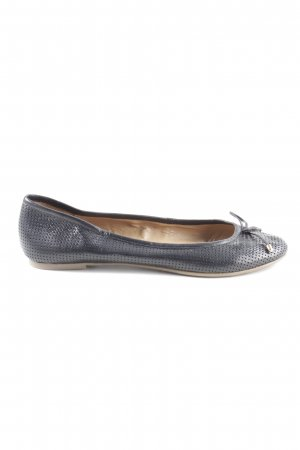 5th Avenue Slingback Ballerinas blau Casual-Look