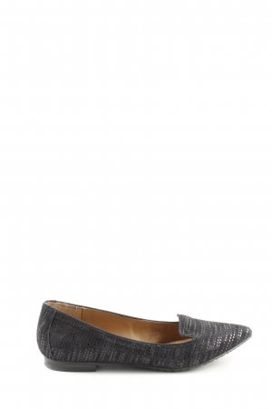 5th Avenue Slippers black allover print casual look