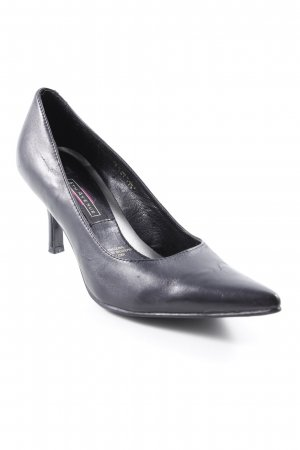 5th Avenue Pointed Toe Pumps black business style