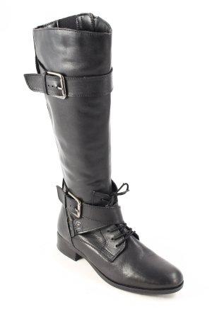 5th Avenue Stiefel schwarz schlichter Stil