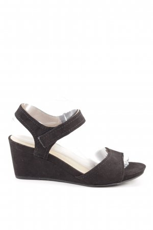 5th Avenue Wedge Sandals brown casual look