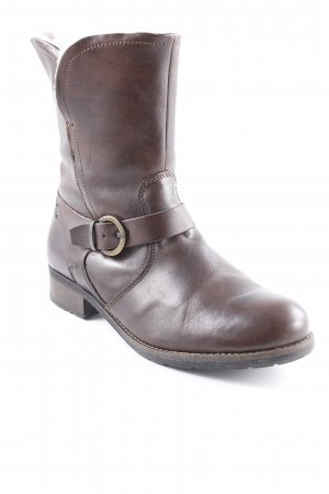 5th Avenue Winter-Stiefeletten dunkelbraun Casual-Look