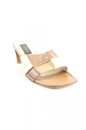 5th Avenue Zehentrenner-Sandalen Karomuster Casual-Look