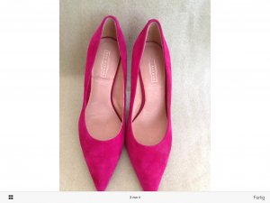 5th Pumps, Wildleder, pink Farbe, Gr.36