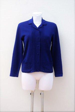 60er Vintage Strickjacke - Reine Wolle