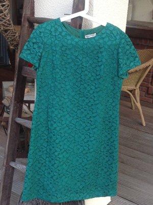 Vestido ceñido de tubo verde bosque