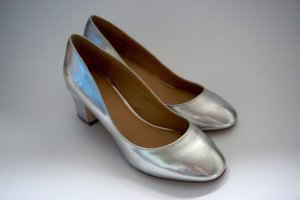 60ies - Pumps von ASOS im Metallic-Look